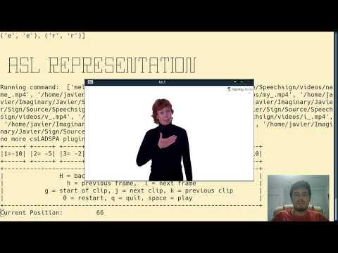 English to ASL Translation AI - Signspeech (Live Test)