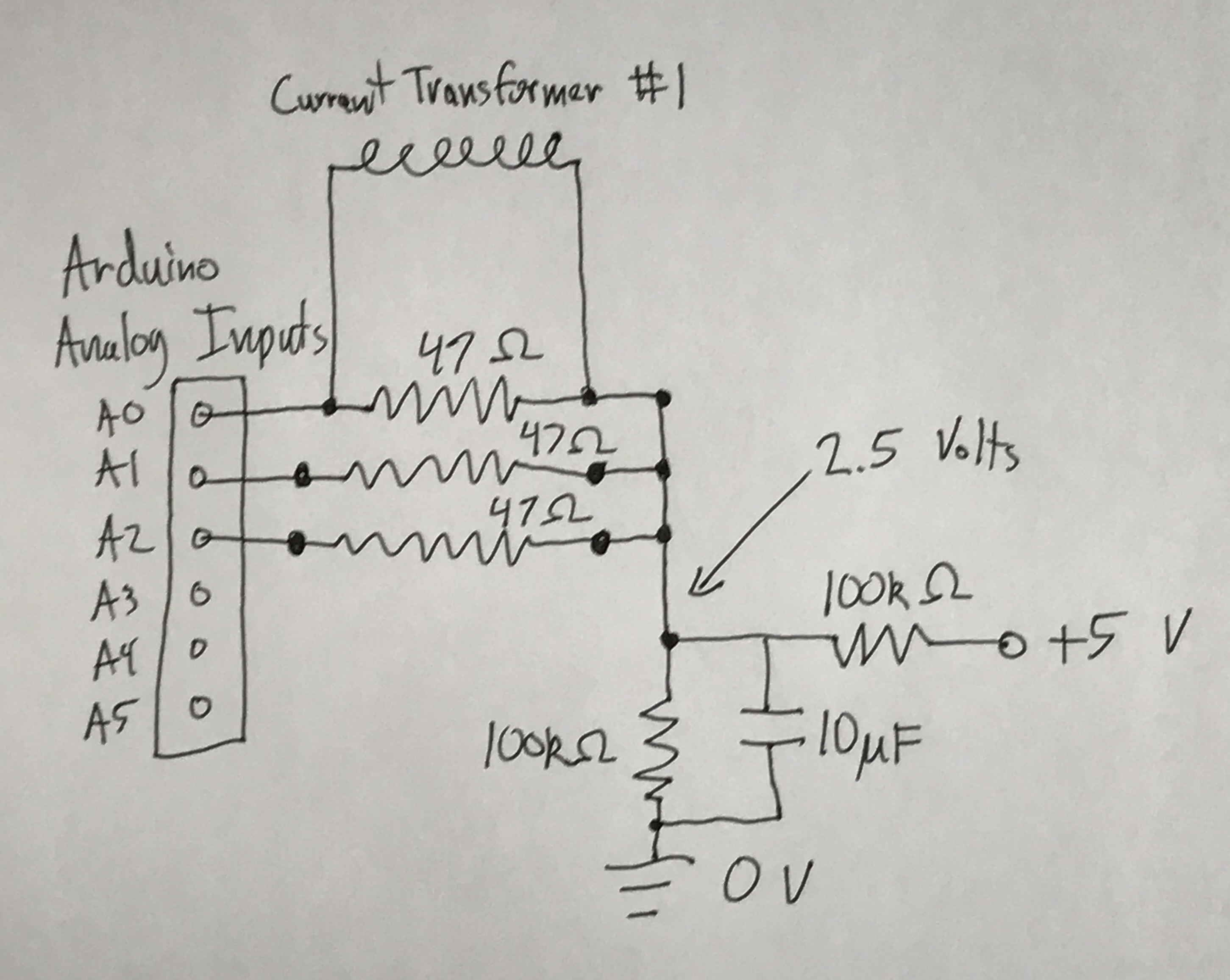 Current Sensing Circuit · Sinorm/DustCollectorControl Wiki · GitHub