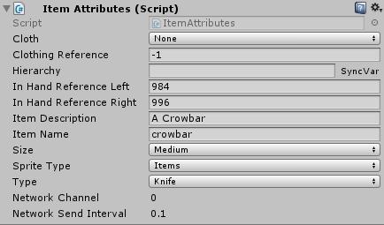 Creating items in UnityStation · unitystation/unitystation