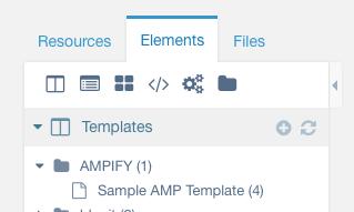 sample AMP Template