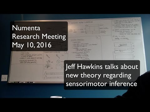 Numenta Research Meeting, May 10 2016 - Sensorimotor inference
