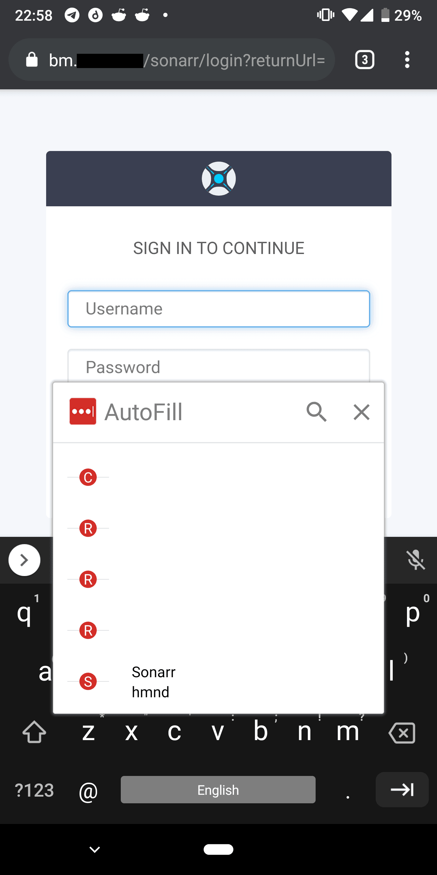 Autofill not working on Chrome Android · Issue #489