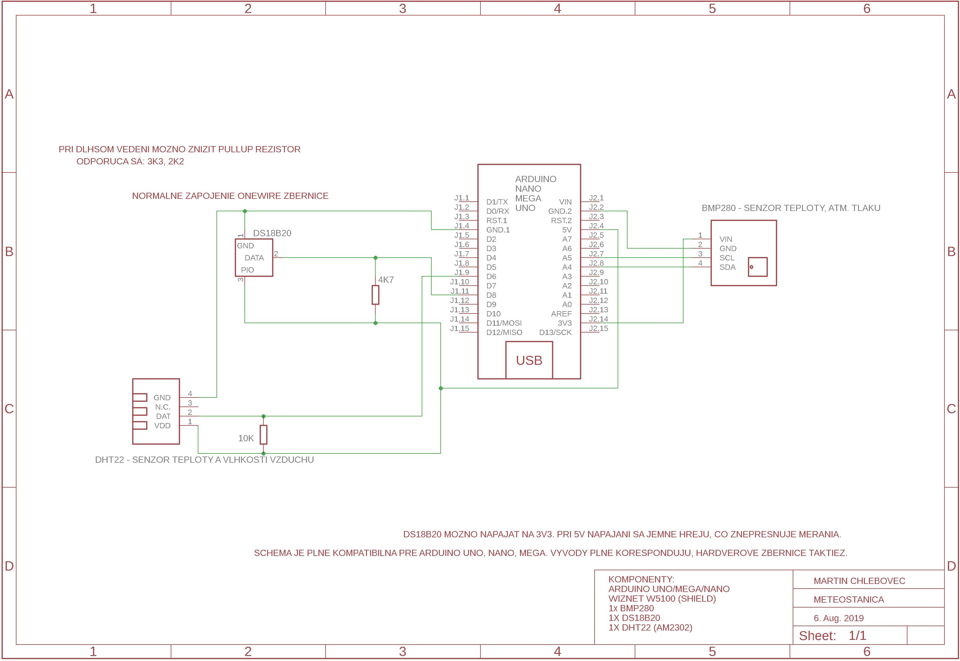 Projekt Meteostanica V2 - uvoľnený zdarma na stiahnutie v plnej verzii.