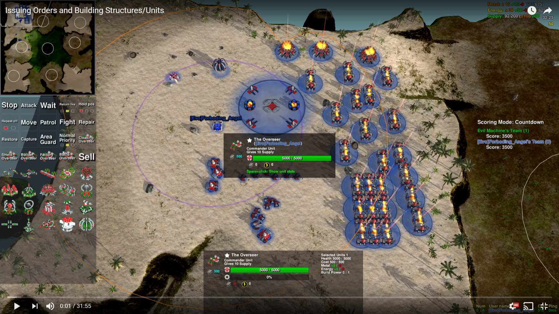How to Play: Issuing Orders and Building Structures/Units