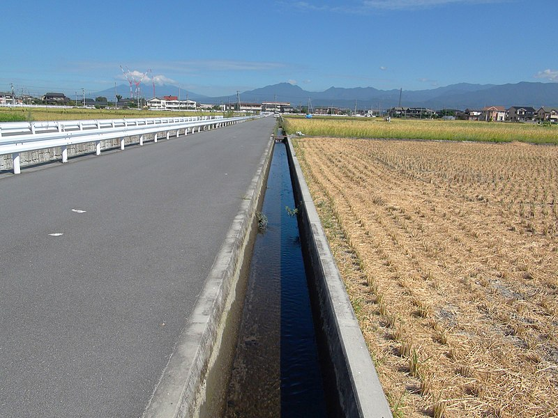 ファイル:Anti Schistosoma japonicum measure waterway.JPG - Wikipedia