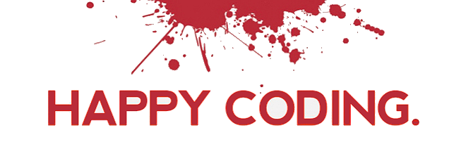 happy coding!
