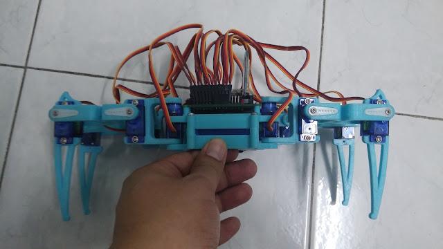 Github anoochit arduino quadruped robot