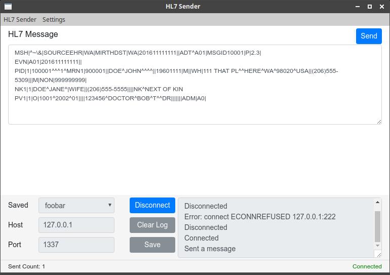 GitHub - making3/hl7-sender: HL7 Sender written in Electron