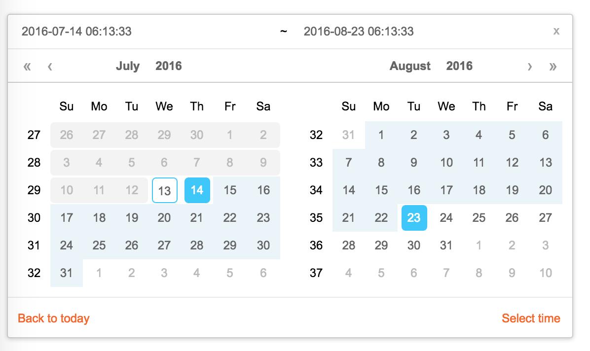 Year Calendar React : Rc calendar react日历组件 react开发社区 ctolib码库