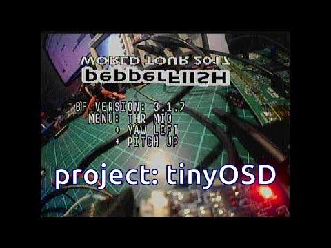 tinyOSD youtube video