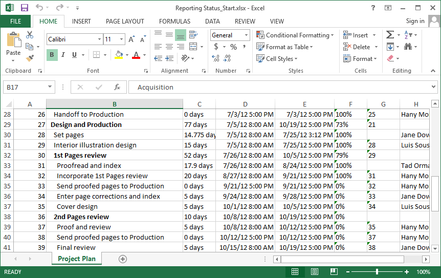 how to open mpp in excel