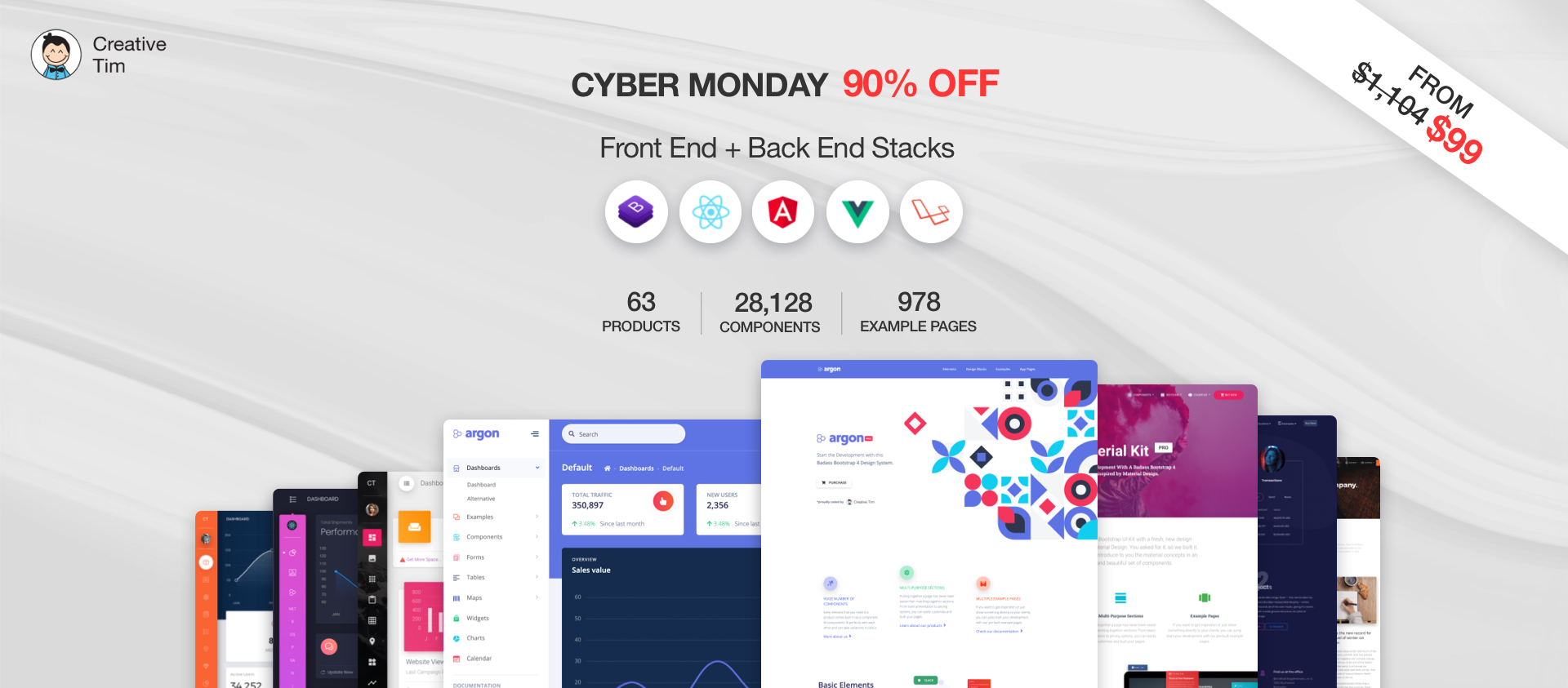 Creative Tim Cyber Monday Offer