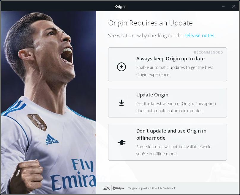 ea origin download stuck