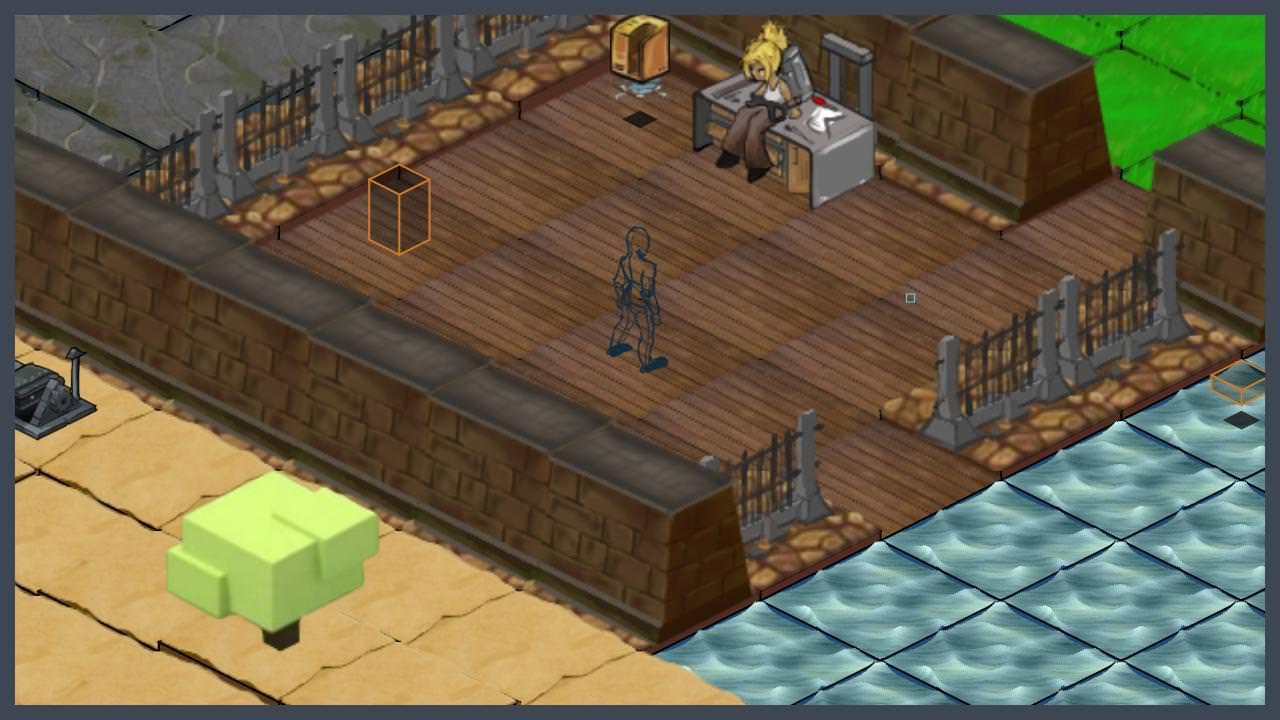 Isometric game demo image