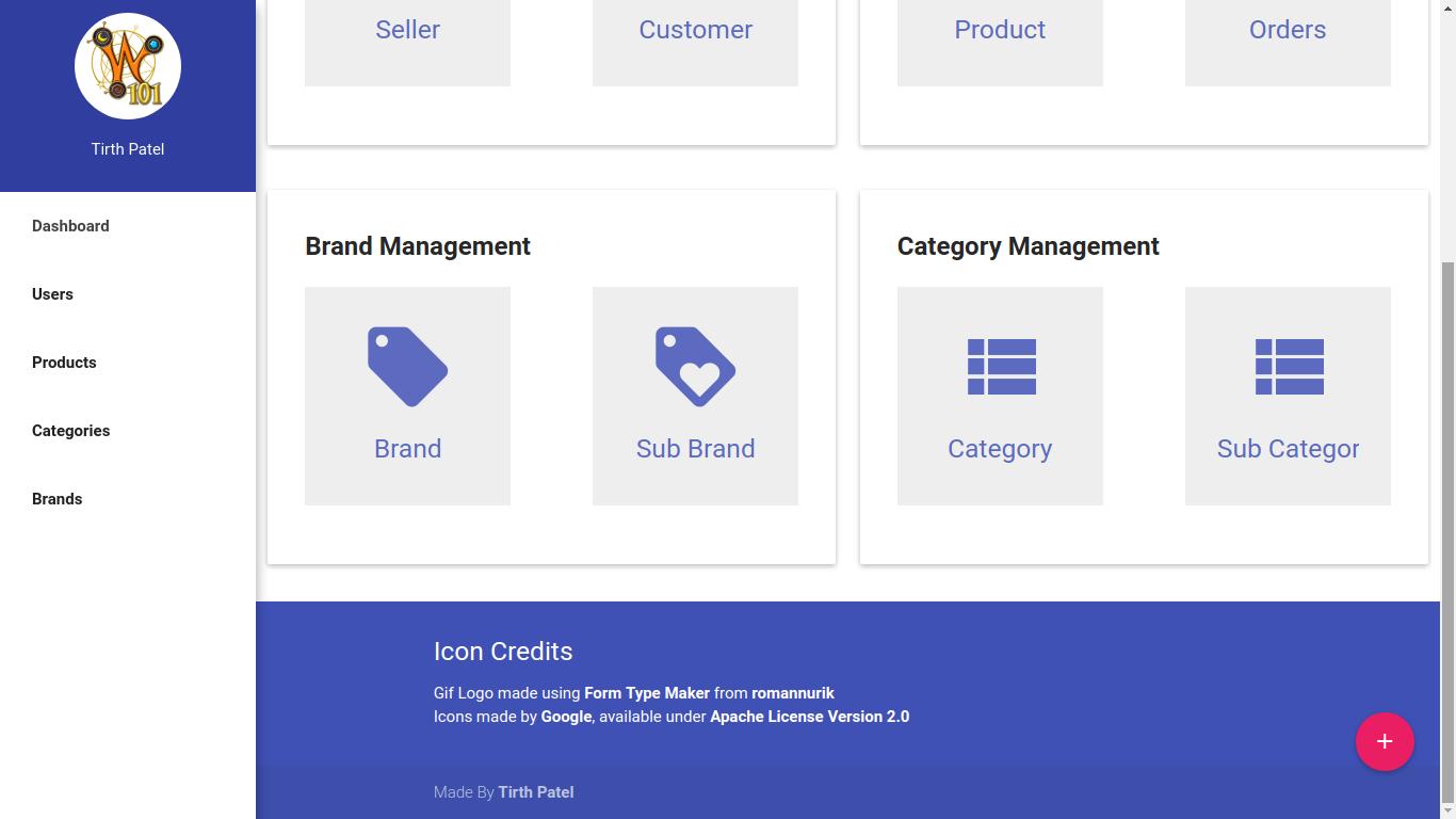 GitHub - piedcipher/mDash: Material Design Admin Dashboard
