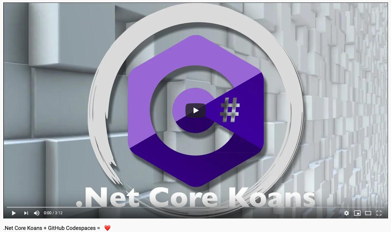 .NET Core Koans