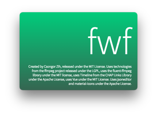 GitHub - daem-on/fwf: HTML video editor with FFmpeg