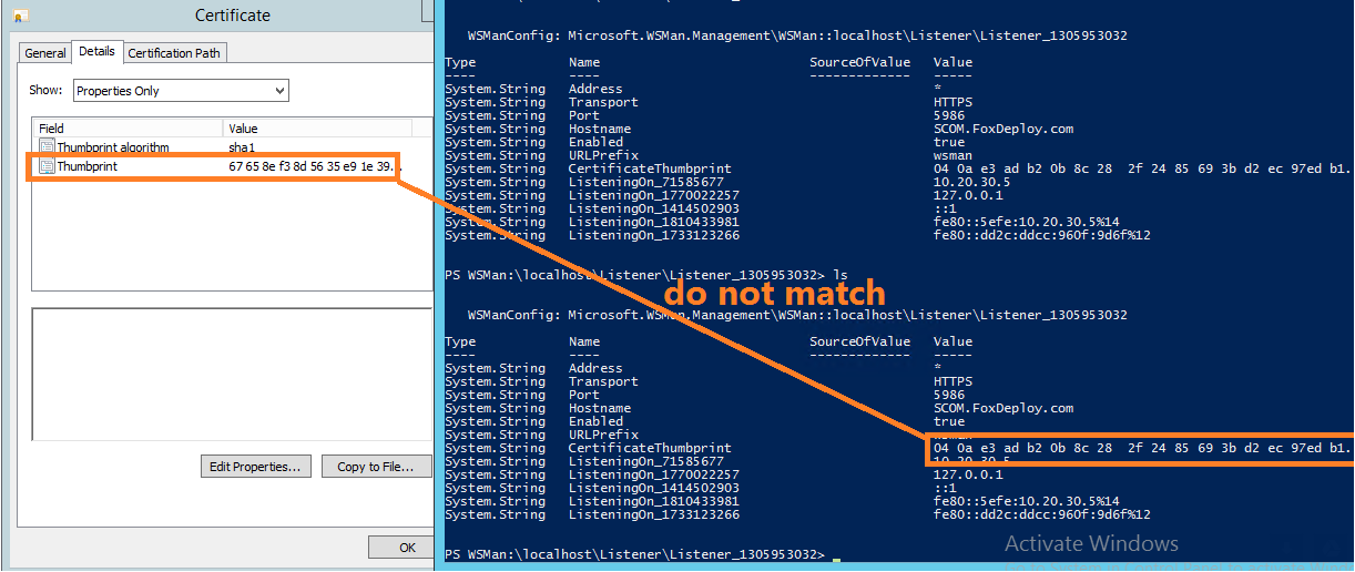 Winrm Certificate Implementation In Https Is Very Strange Issue