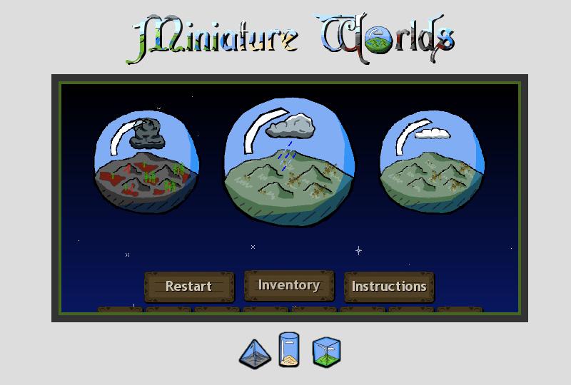 Miniature Worlds - First Run