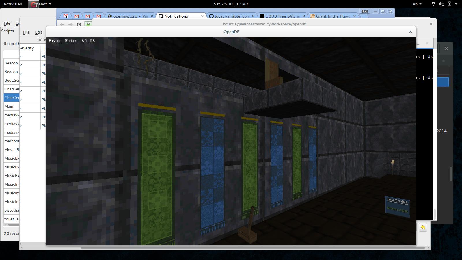Image of OpenDF in Buccaneer's Den
