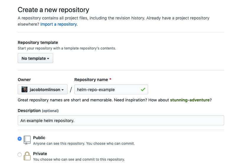 Creating a GitHub repo