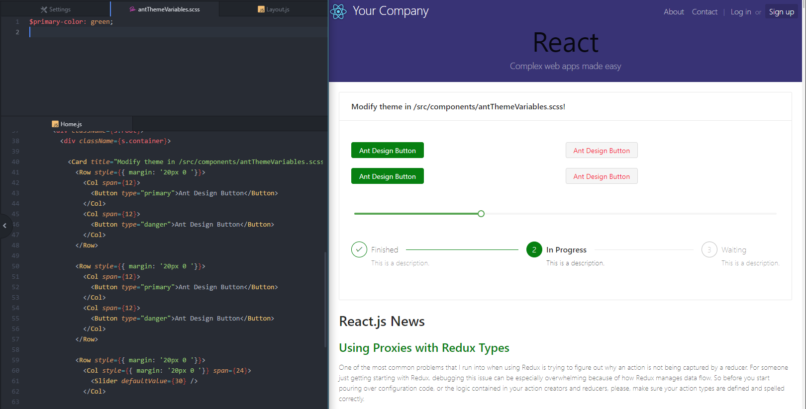 Github Tim Soft React Starter Kit Antd React Starter Kit With Ant Design Integration