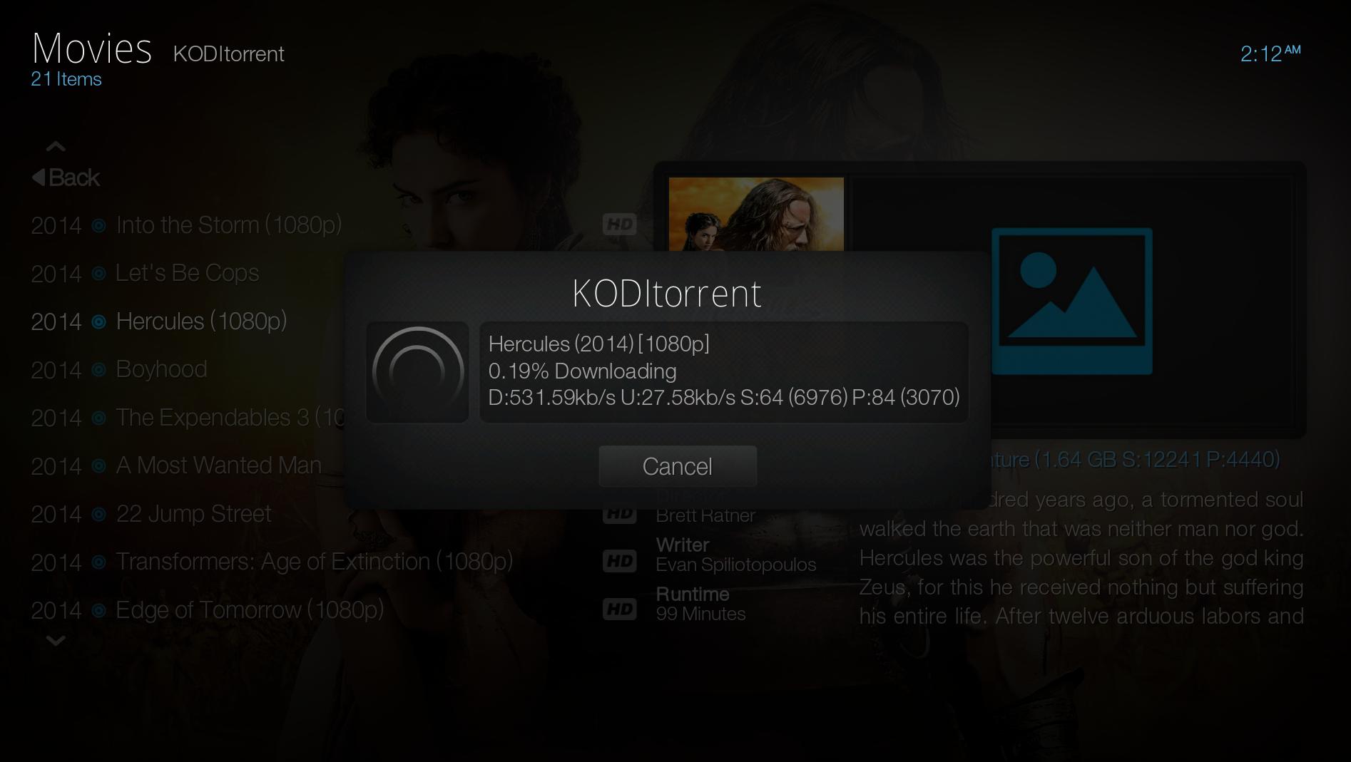 KMediaTorrent Screenshot7