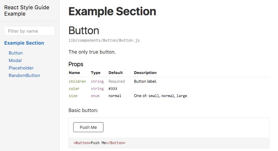 react-styleguidist-example-secion