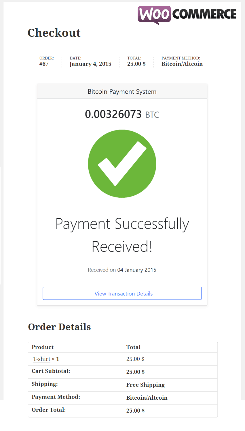 WooCommerce-Payment-Received