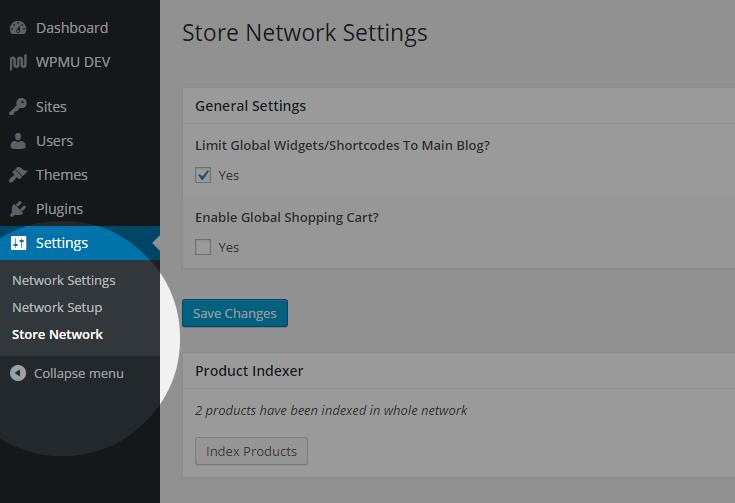 MarketPress - Store Network - Home
