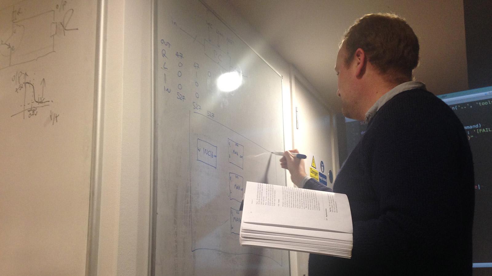 Chris draws Program Counter
