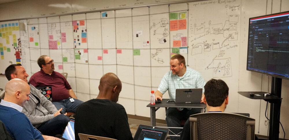 Nationwide Office: Brainstorming