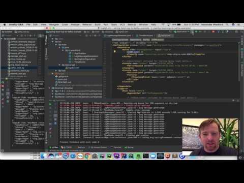 GitHub - alexwoolford/spring-boot-log-to-kafka-example