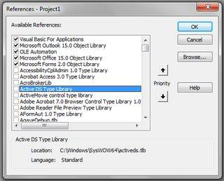 Installation (2) Add Library References · bskinn/outlook-vba