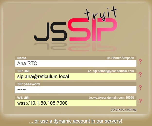 GitHub - GrimmKull/Reticulum: WebRTC Webphone with SIP Proxy