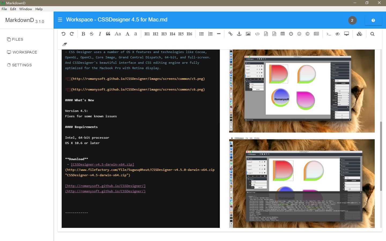 GitHub - Romanysoft/MarkdownD