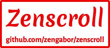 Zenscroll