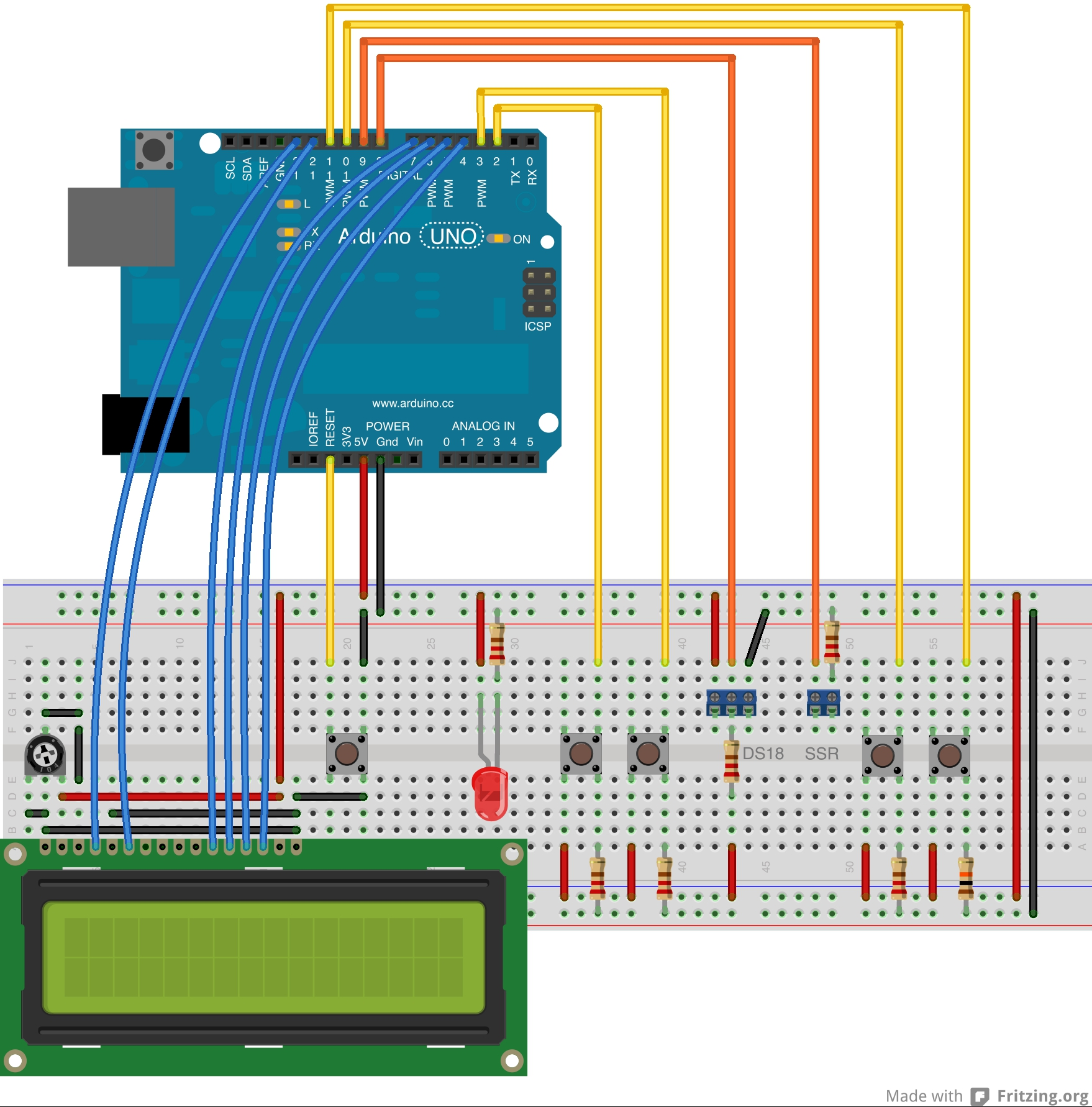 Github Kerinin Arduino Thermostat A For The Relay Switch Breadboard Diagram