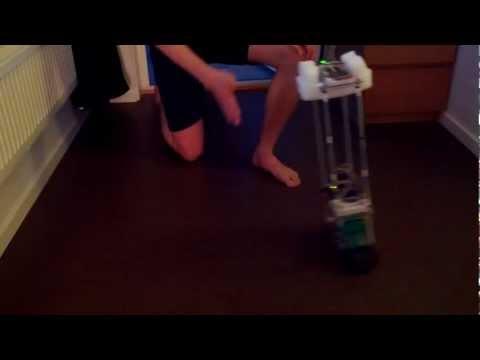 Selfbalancing robot video 1