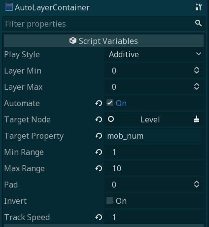 AutoLayerContainer properties