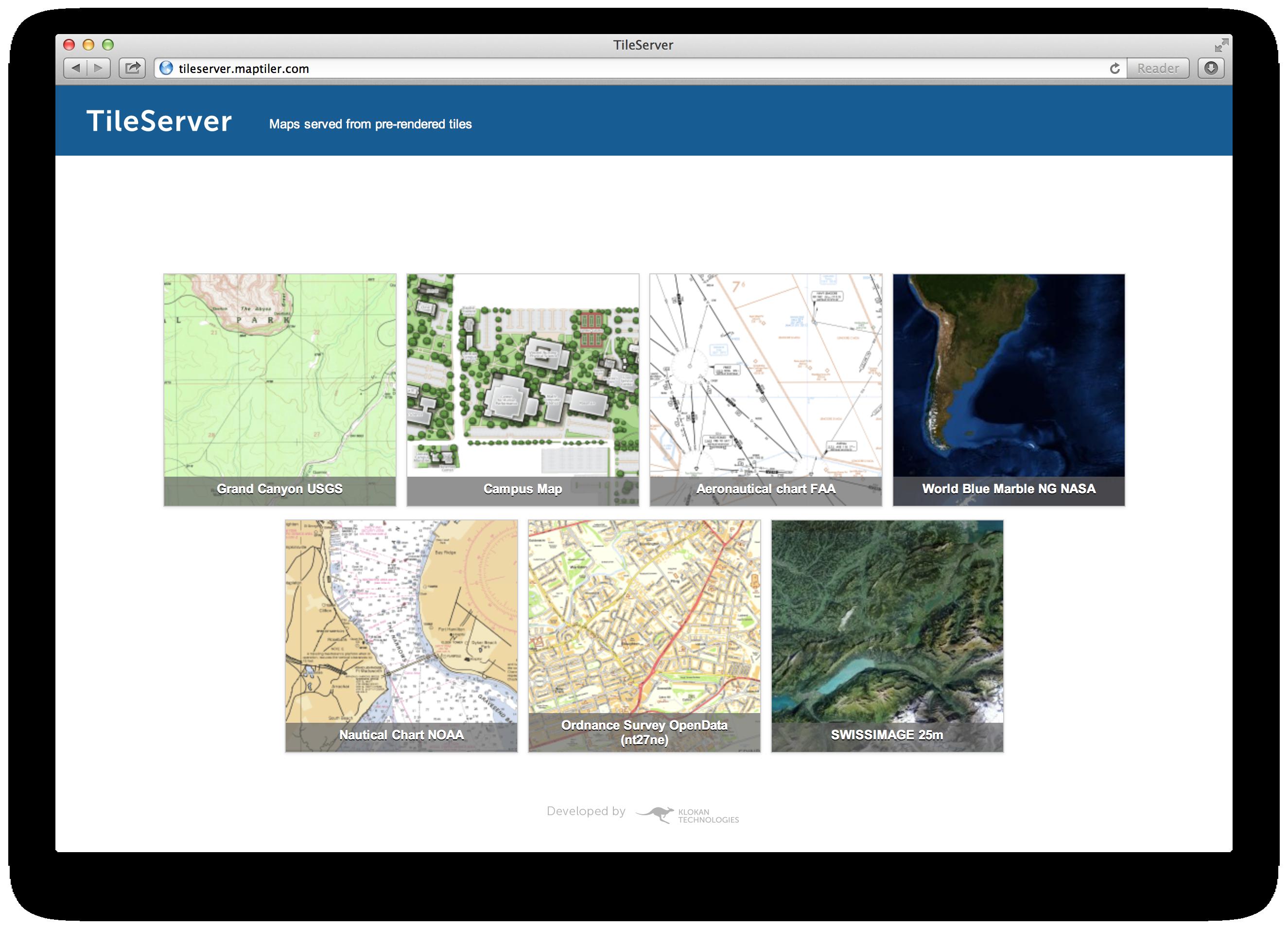 GitHub - klokantech/tileserver-php: MBTiles and MapTiler folder