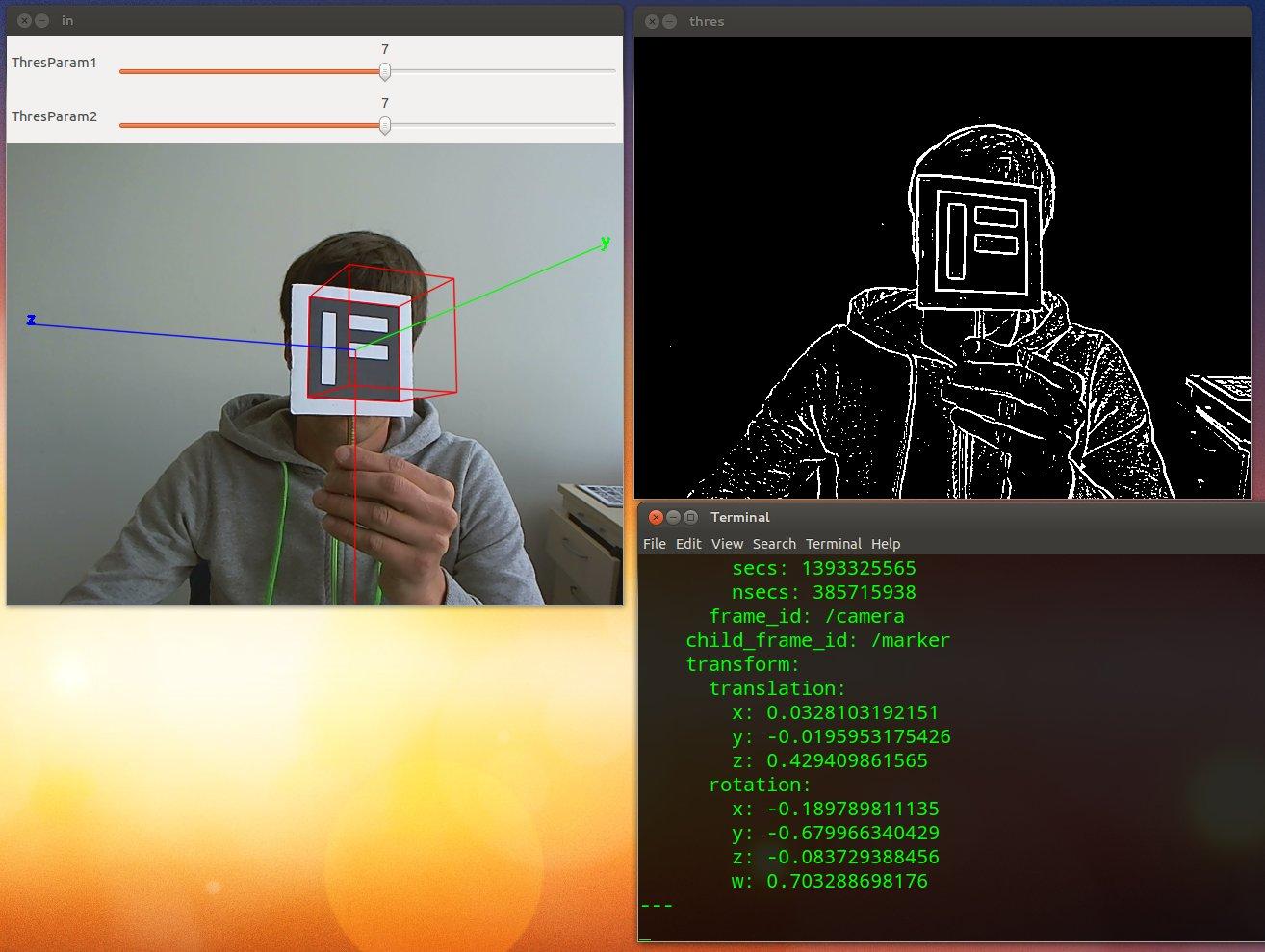 GitHub - warp1337/ros_aruco: Simple ROS Node to publish