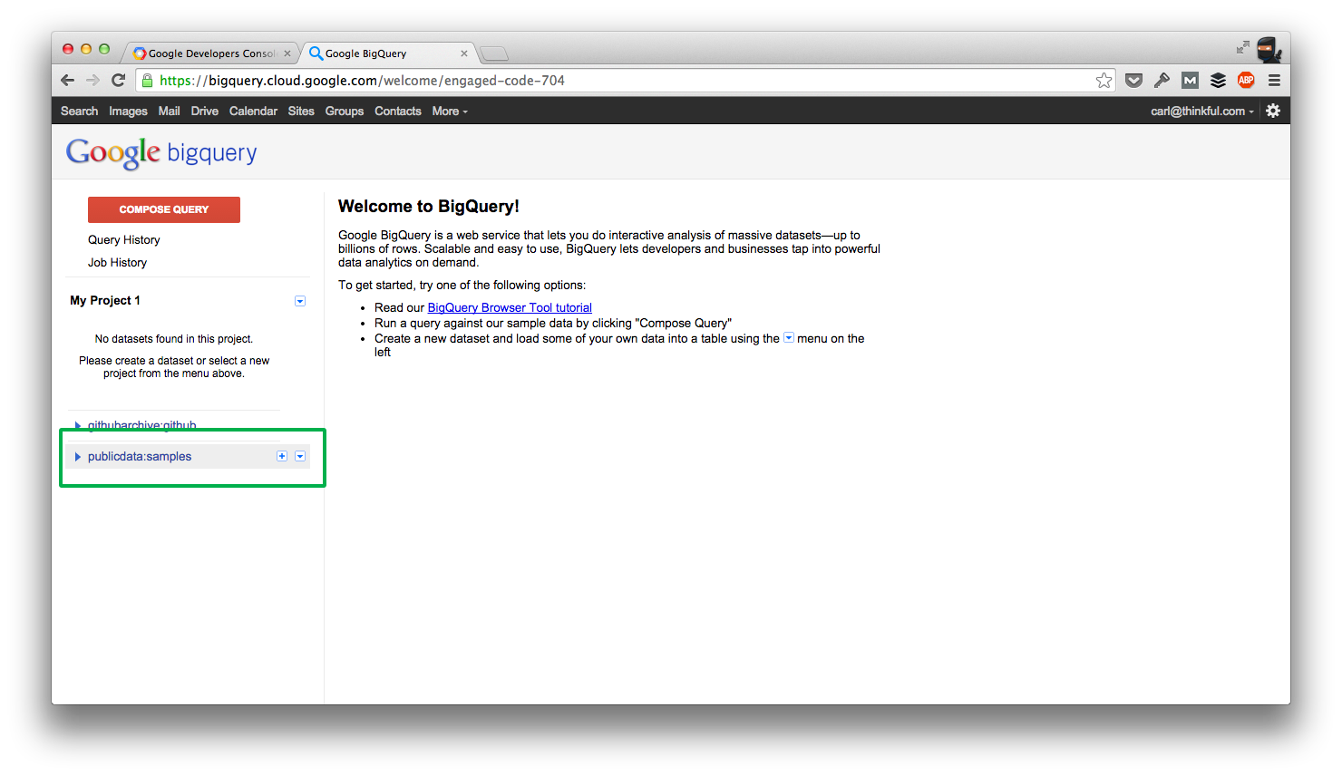 GitHub - Thinkful/guide-google-bigquery: An intro to Google