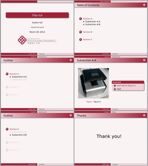 github - quxiaofeng/polyu_beamer_theme: an unofficial beamer theme, Modern powerpoint