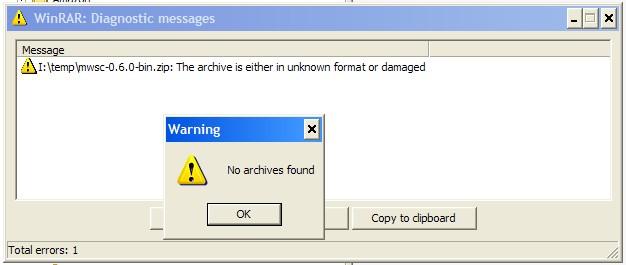 Unable to extract mwsc zip · Issue #1 · bulldog2011/mwsc · GitHub