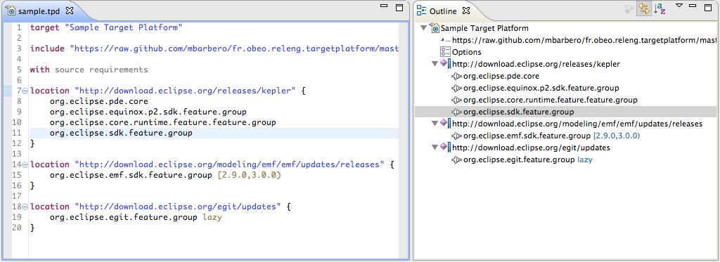 GitHub - eclipse-cbi/targetplatform-dsl: Target Platform