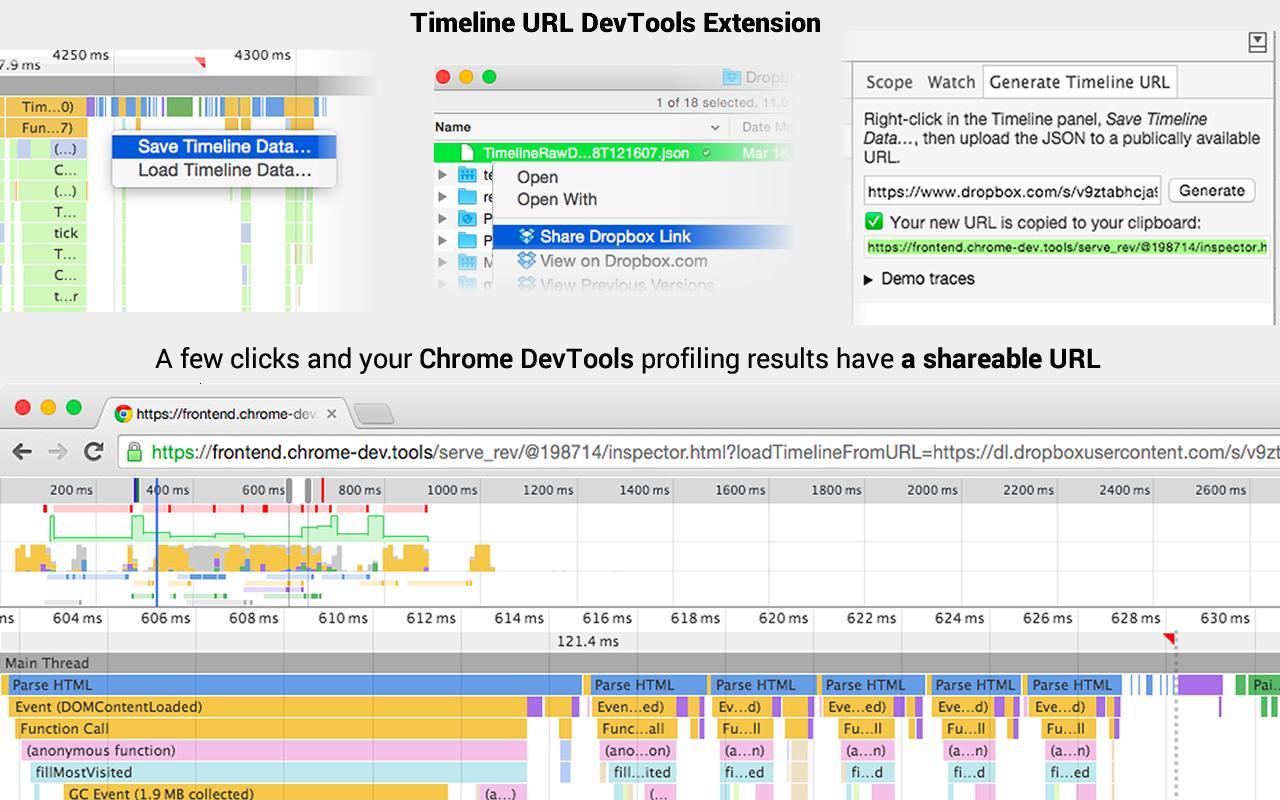 GitHub - ChromeDevTools/timeline-url: Chrome devtools