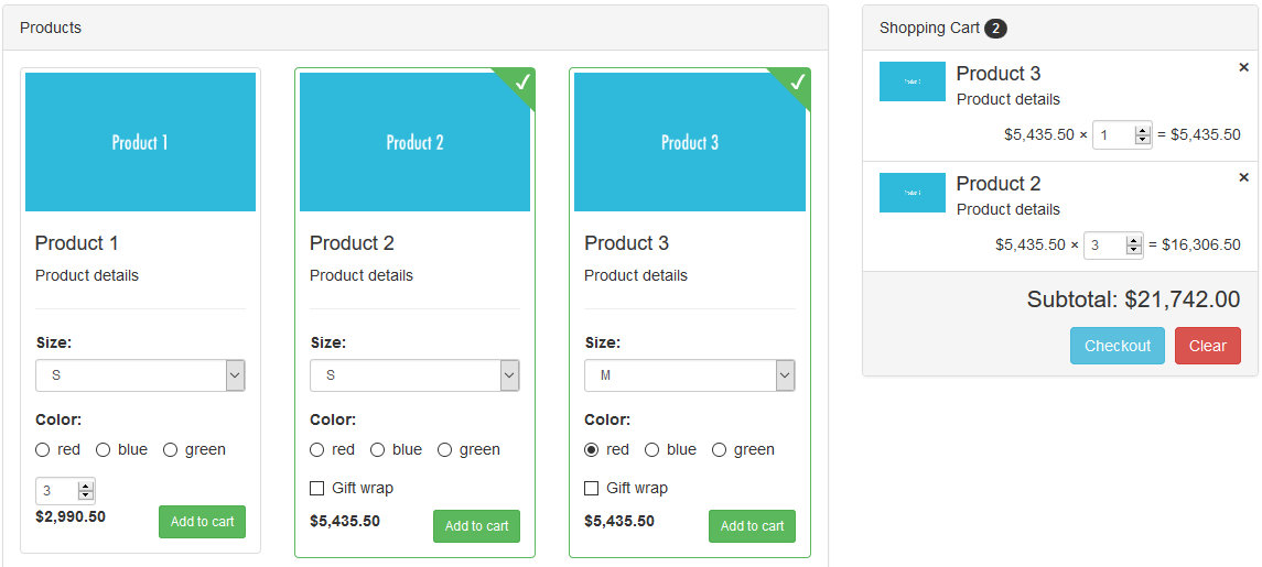 Smart Cart Screenshot1