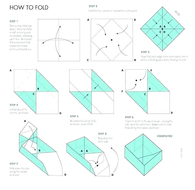 simple box, how to fold a box, origami box instructions, box ... | 778x800