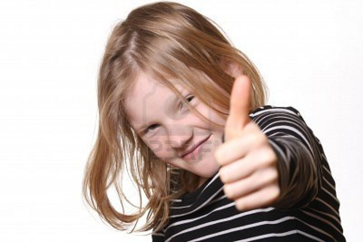 6744922-pretty-young-girl-with-thumbs-up